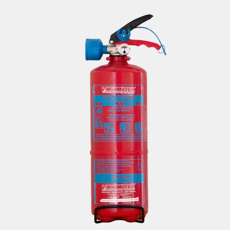 Extintor de agua de 2 litros